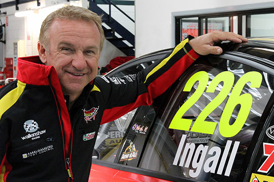 Russell Ingall makes his 226th start at the 2013 Sucrogen Townsville 40 breaking the record for most starts in ATCC/V8 Supercars history