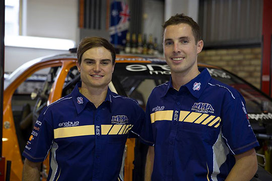 Tim Slade and Andrew Thompson pair up for the 2013 endurance season