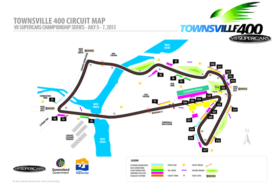 Sucrogen Townsville 400 circuit