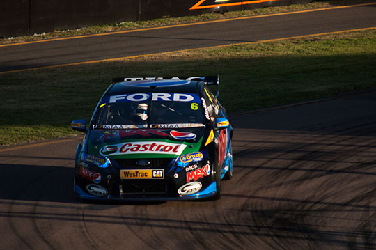 Will Davison wins the opening race of the 2013 Townsville 400