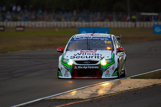 Chaz Mostert in the Wilson Security backed DJR entry