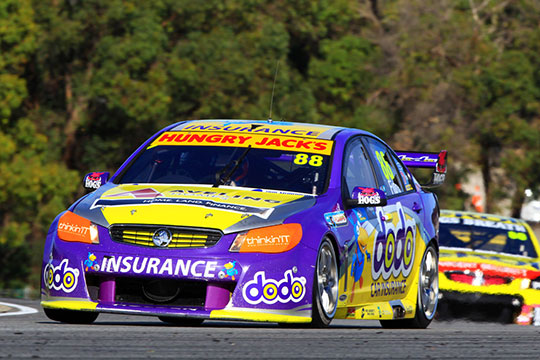 Matt Halliday has been confirmed as Dean Fiore's co-driver in the Dodo Insurance Holden Commodore VF for the Pirtek Enduro Cup