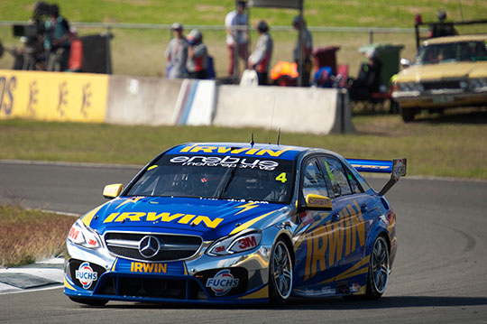 Erebus Motorsport welcome fuel parity test