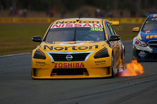 James Moffat at Queensland Raceway