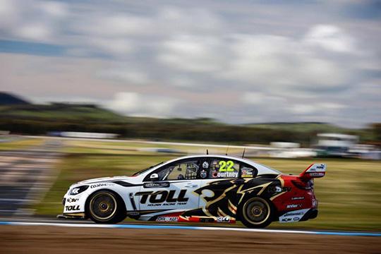 Winton Race 27 winner James Courtney