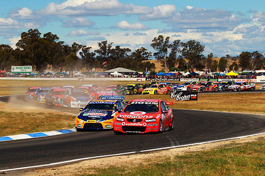 V8 Supercars Winton 2012
