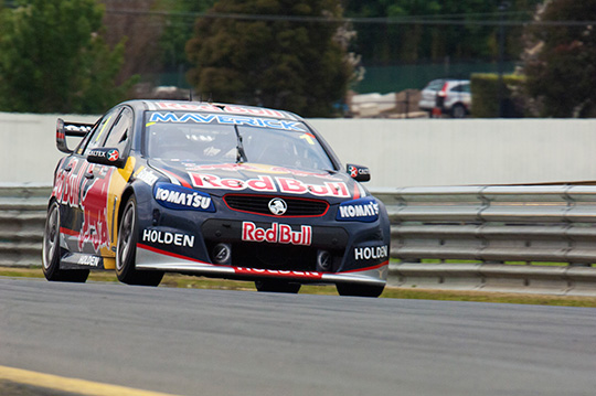 Paul Dumbrell wins the Sandown co-driver qualifying race