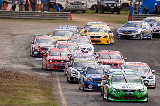 V8 Supercars Race Formats modified for 2014