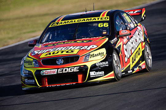 Tim Slade will pilot the Supercheap Auto Racing Holden in 2014