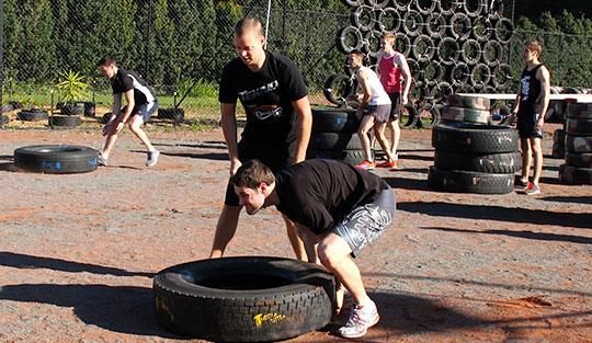 TEKNO Human Performance training camp