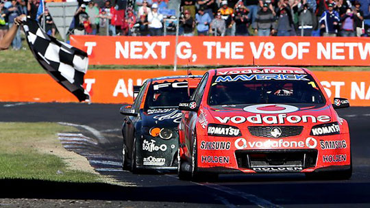 2012 Bathurst 1000 finish