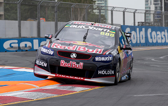 Craig Lowndes takes pole for the Gold Coast 600 opener