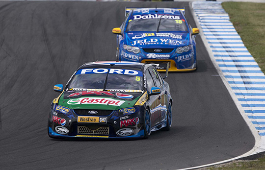 Mark Winterbottom takes pole for Race 32 at Phillip Island