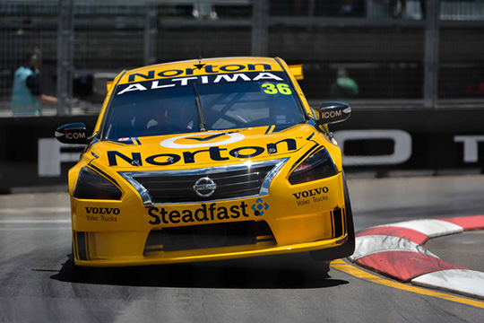 Michael Caruso re-signs with Nissan Motorsport Australia