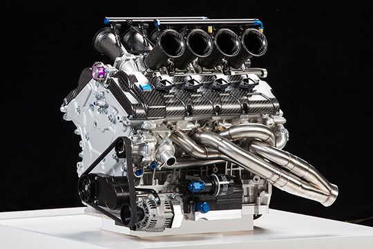 2014 Volvo Polestar Racing S60 V8 Supercar engine
