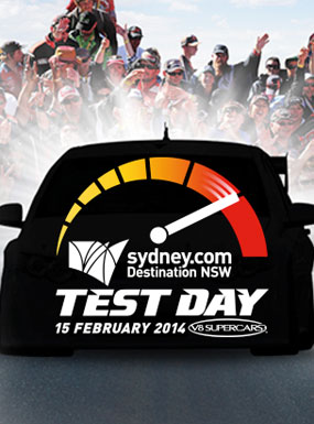 sydney.com V8 Supercars Test Day