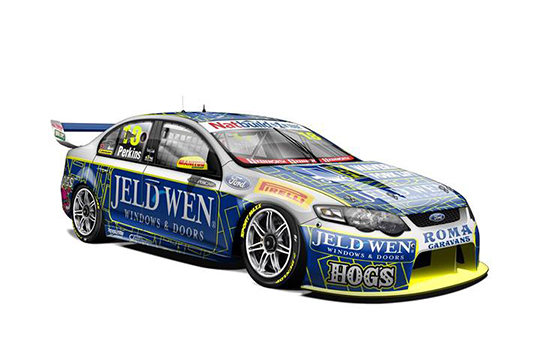 2014 Team JELD-WEN entry