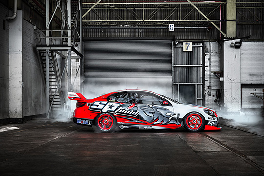 Holden Racing Team 2014 livery sideshot