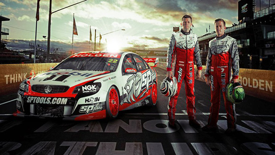 Holden Racing Team 2014 livery