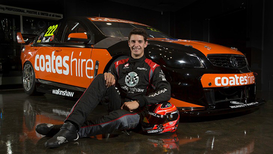 Nick Percat reveals the Coates Hire racing colours