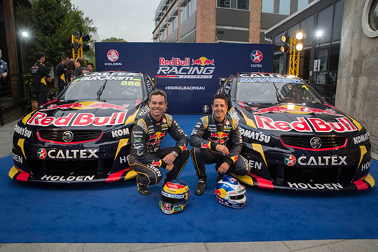 Red Bull Racing Australia 2014 livery launch