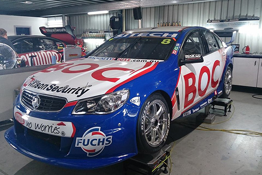 The BJR Team BOC 2014 Holden