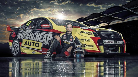 Tim Slade reveals 2014 Supercheap Auto Racing livery