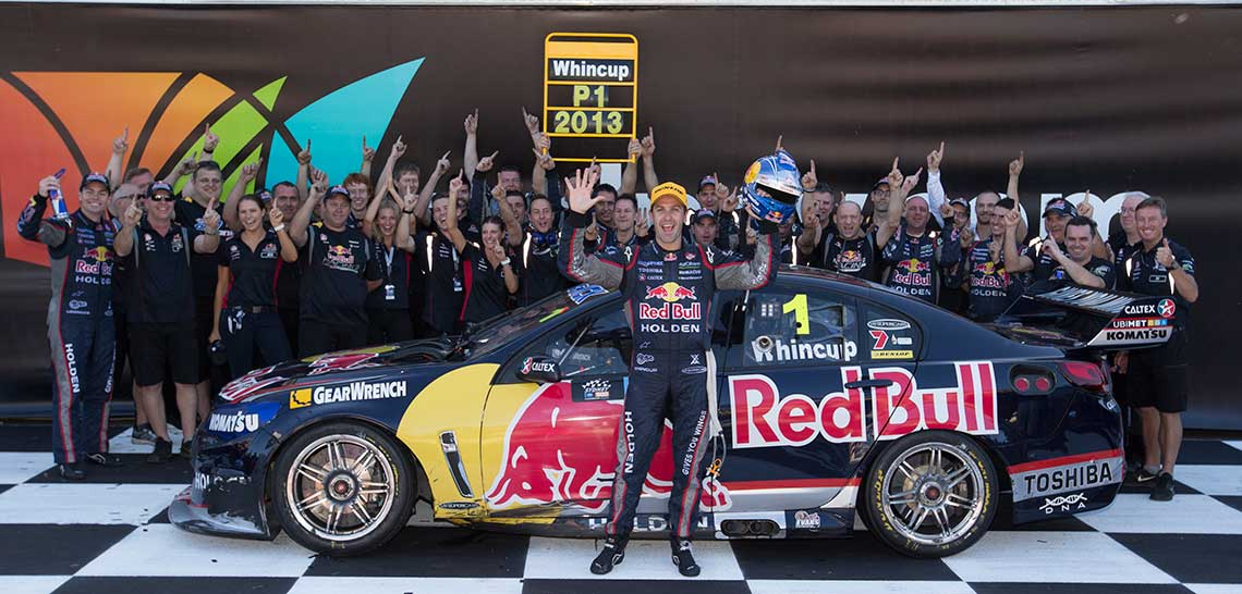 Jamie Whincup tops the points to win his fifth V8 Supercars Championship title