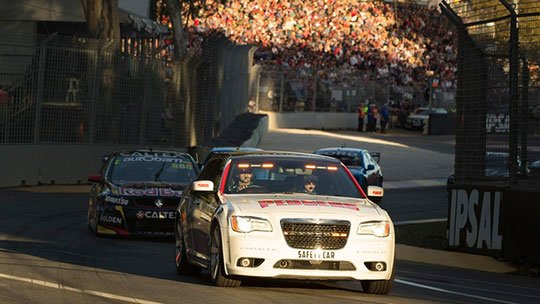 V8 Supercars announces restart procedure changes