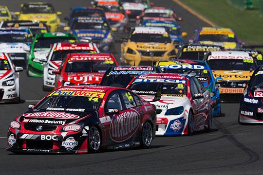 V8 Supercars Albert Park 2013