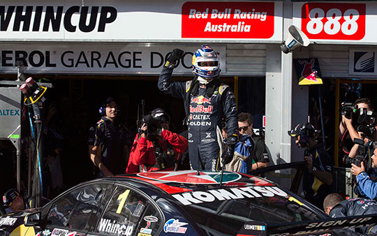 2014 Clipsal 500 winner Jamie Whincup