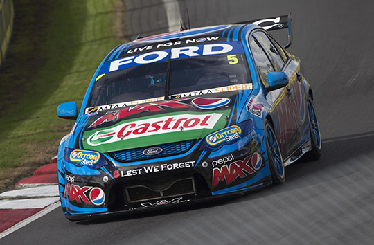 2014 ITM 500 race two winner Mark Winterbottom