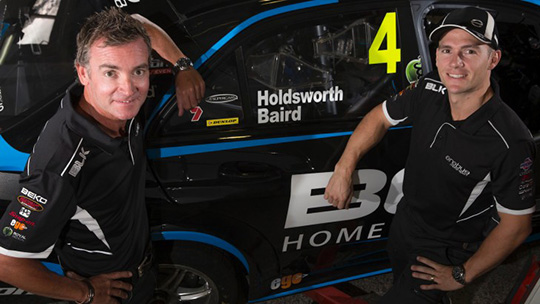 Craig Baird re-unites with Lee Holdsworth for 2014 Pirtek Enduro Cup