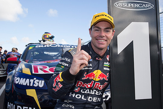 Craig Lowndes win race 15 Perth 400