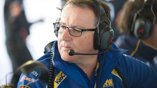 David Stewart newly appointed V8 Supercars Technical and Sporting Director
