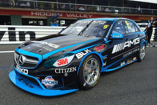 Erebus Motorsport's V8 Supercars to run AMG Customer Sports branding in Darwin
