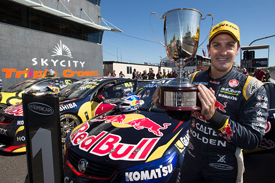 Jamie Whincup doubles up in Darwin
