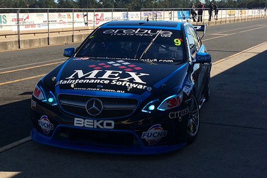 Erebus Motorsport/Mex Maintenance Software livery