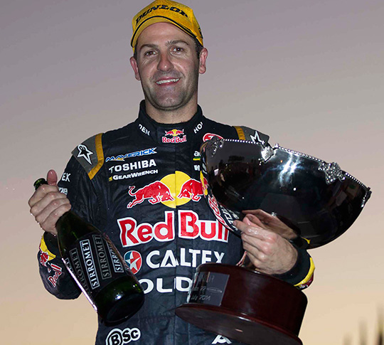 Jamie Whincup doubles up at Townsville 500