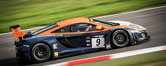 Shane van Gisbergen will take the wheel of the Von Ryan Racing McLaren MP4-12C at the 2014 Spa 24 Hours