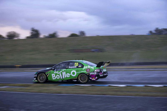 The damaged Bottle-O Ford Sydney Motorsport Park 400