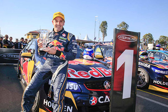 Jamie Whincup wins Ipswich 400 opener