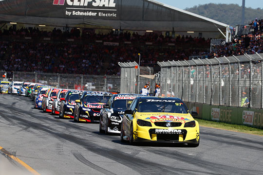 The V8 Supercars championship gets underway with the Clipsal 500
