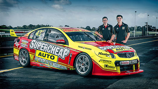 Supercheap Auto Racing's commemorative Bathurst livery