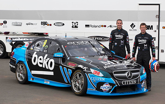 Will and Alex Davison Erebus Motorsport co-driver pairing