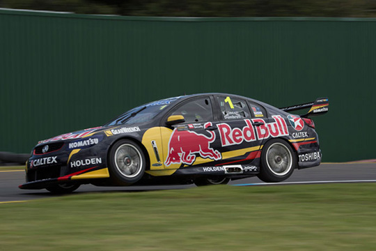 The #1 Red Bull Racing Australia Holden at the Sandown 500