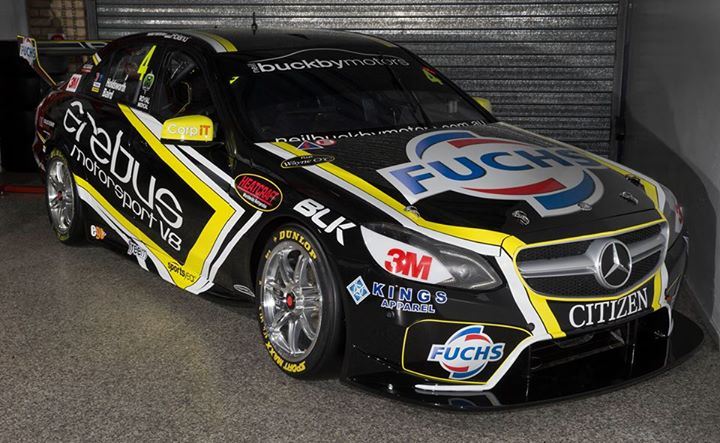 Erebus' Bathurst 1000 tribute livery which pays homage to its 2013 Bathurst 12 Hour winning Mercedes-Benz GT3 SLS Photo c/o Erebus Motorsport V8