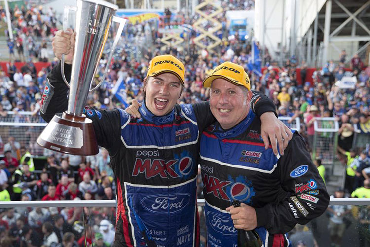 Chaz Mostert and Paul Morris win 2014 Bathurst 1000