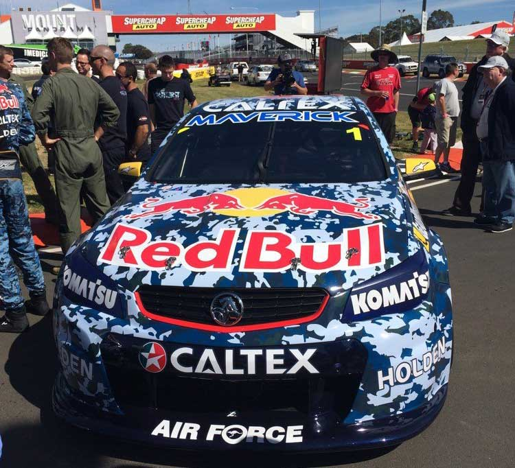 Red Bull Racing Airforce tribute livery