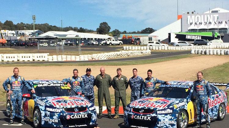 Red Bull reveal Air Force inspired Bathurst livery